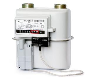 Счетчик газа Эльстер BK G1,6 1 1/4 (110 мм) правый