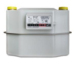 Газовый счетчик ЭЛЬСТЕР Газэлектроника BK G4Т с термокорректором 250мм првый