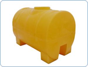Бак для воды Анион 2000 Л цилиндрический горизонтальный НА ДВУХ ОПОРАХ (КОД МН300ФК2З)