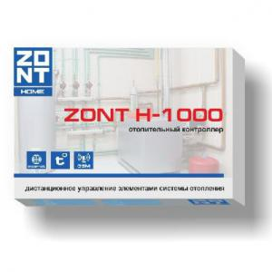 Контроллер отопления ZONT H1000