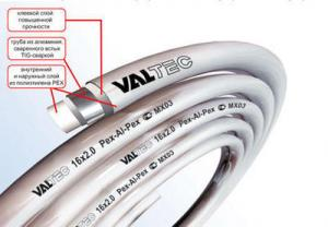 Металлопластиковая труба Valtec 16 V1620