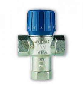 """Watts Термостатический смеситель 3/4"""" ВН AQUAMIX (25-50*C) 10017420 (05.59.220)"""