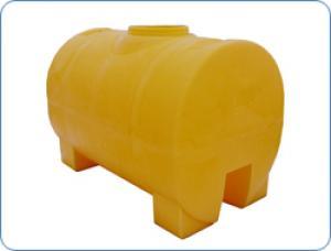 Бак для воды Анион 2000 Л цилиндрический горизонтальный НА ЧЕТЫРЕХ ОПОРАХ (КОД МН2000ФК2)