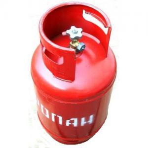 Баллон пропановый 12л (вентиль, клапан) в п/эт упаковке