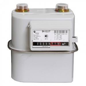 Счетчик газа Эльстер BK G2,5T 1 1/4 (110 мм) левый с термокорректором