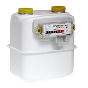 Газовый счетчик Лиом Плюс ТРИТОН ГАЗ G1 1/4 правый (2018 год)