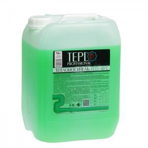 Теплоноситель Teplo Professional -65, 10кг пропиленгликоль зеленый