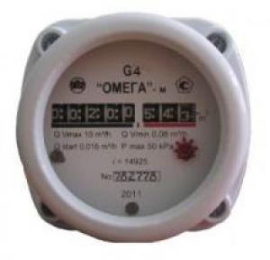 Газовый счетчик ОМЕГА G4 ОМЕГА