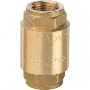 """STOUT Клапан обратный пружинный муфтовый с пластиковым седлом 1 1/2"""" SVC-0012-000040"""