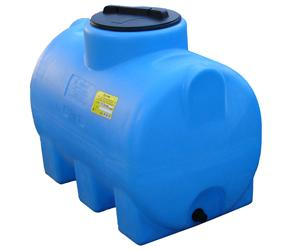 Бак для воды Анион 300 Л цилиндрический горизонтальный (КОД МН300ФК2З)