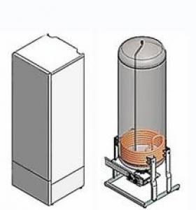 Водонагреватель комбинированного нагрева VLM 300 KS