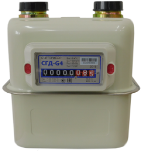 Газовый счетчик Счетприбор СГД-G4 G11/4 левый
