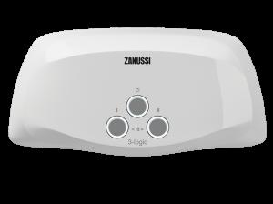 Водонагреватель проточный Zanussi 3-logic 5,5 TS (душ+кран