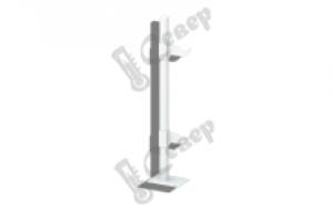 Кронштейн напольный для алюминевых и биметалических радиаторов 350мм