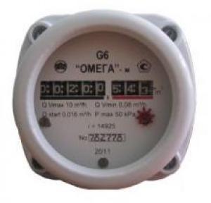 Газовый счетчик ОМЕГА G6 ОМЕГА