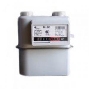Газовый счетчик ЭЛЬСТЕР Газэлектроника BK G4Т с термокорректором левый